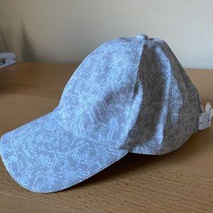 Lululemon White and Grey Baller Hat